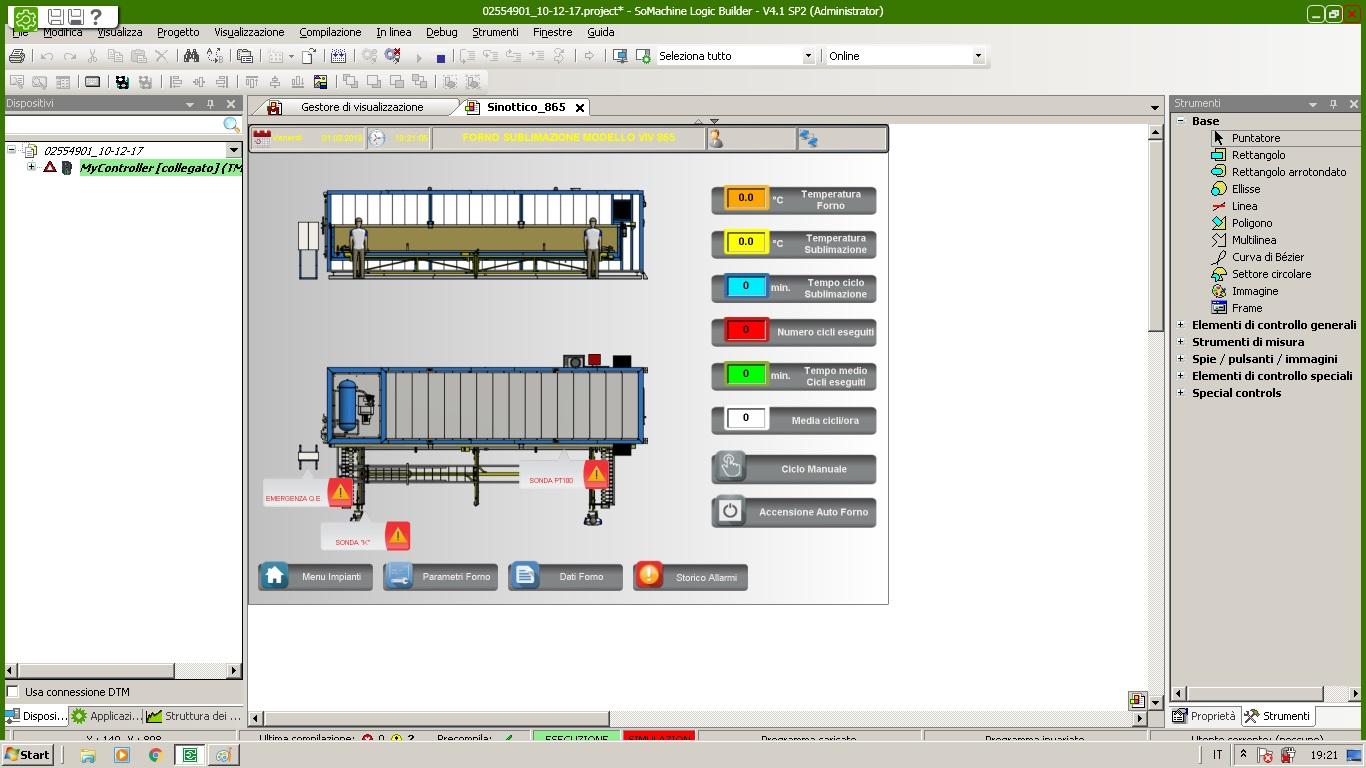 DMZ Technology | Software PLC Quadri Elettrici e Automazione